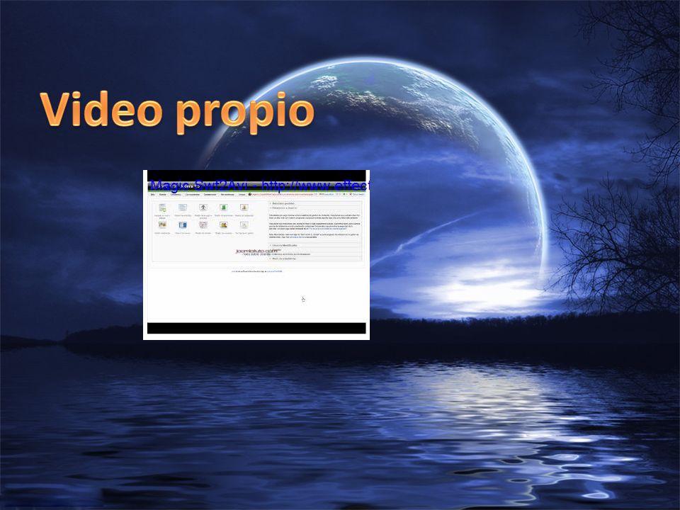Video propio