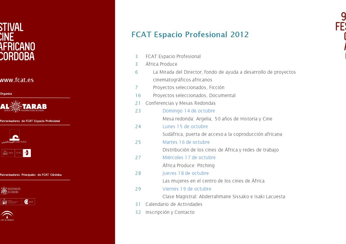 FCAT Espacio Profesional 2012