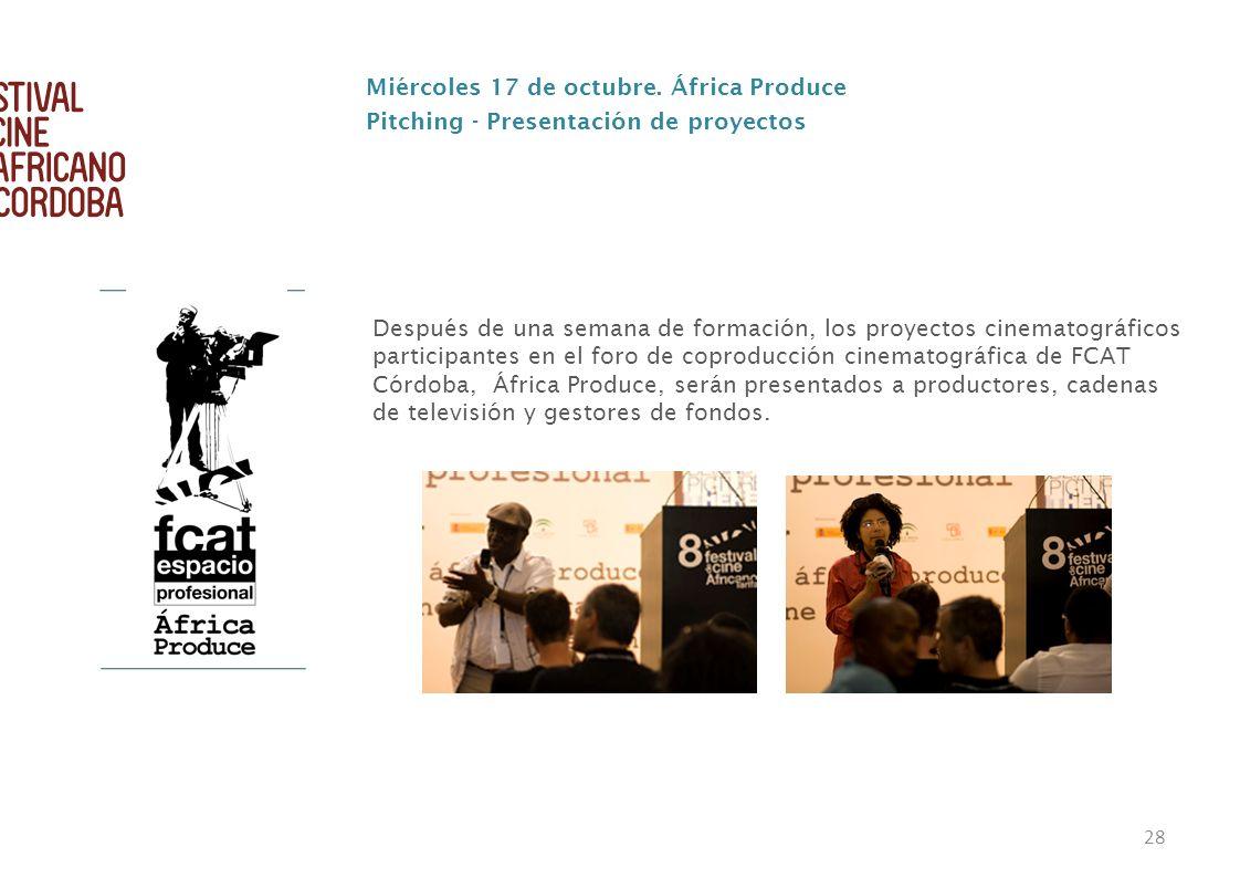 Miércoles 17 de octubre. África Produce