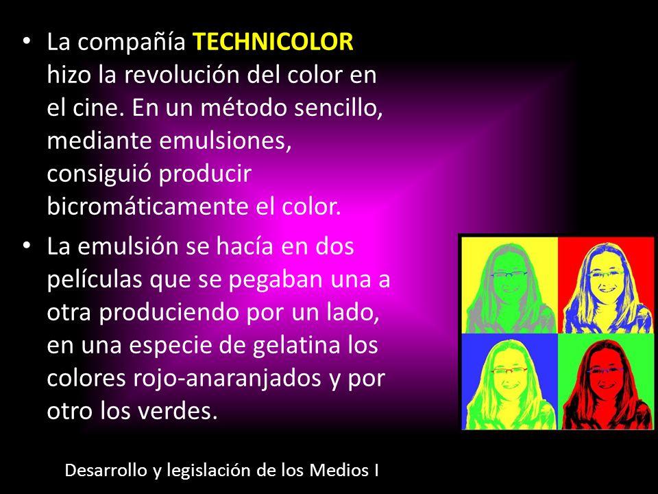 La compañía Technicolor hizo la revolución del color en el cine
