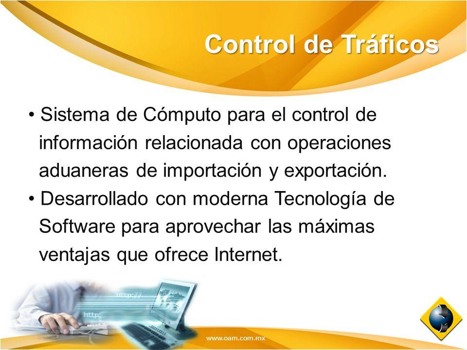 Control de Tráficos Sistema de Cómputo para el control de