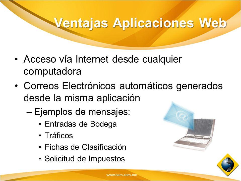 Ventajas Aplicaciones Web