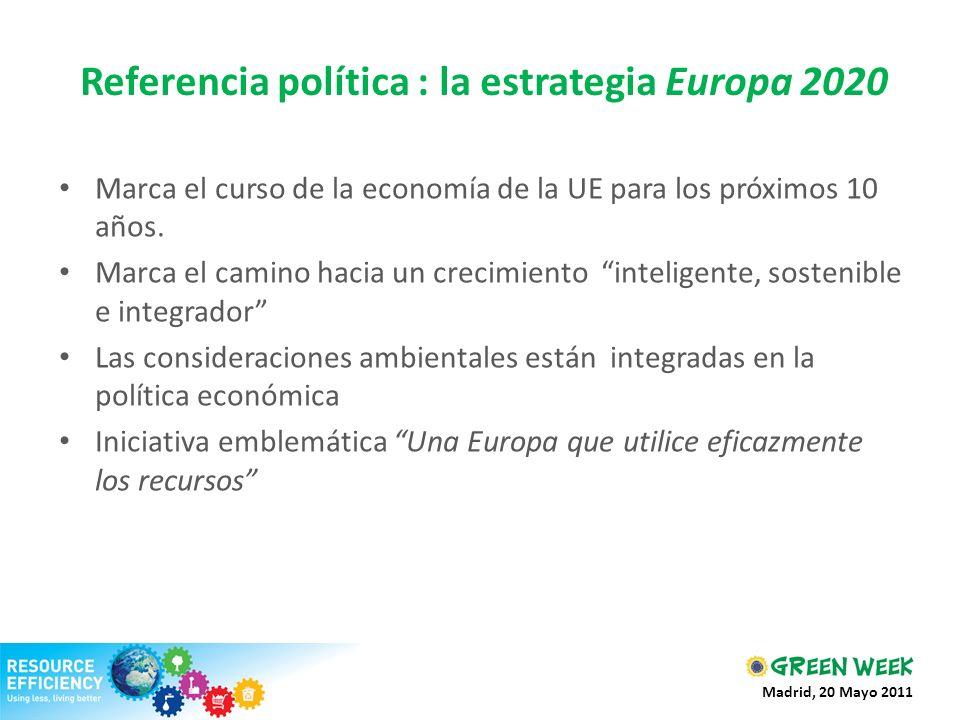 Referencia política : la estrategia Europa 2020