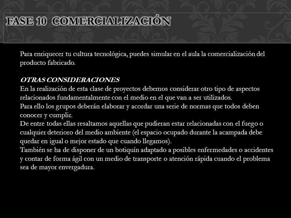 FASE 10 COMERCIALIZACIÓN