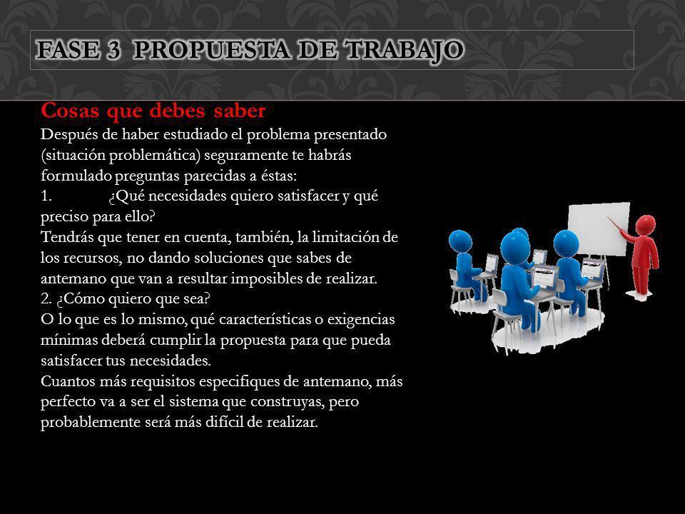 FASE 3 PROPUESTA DE TRABAJO