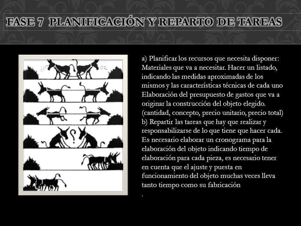 FASE 7 PLANIFICACIÓN Y REPARTO DE TAREAS