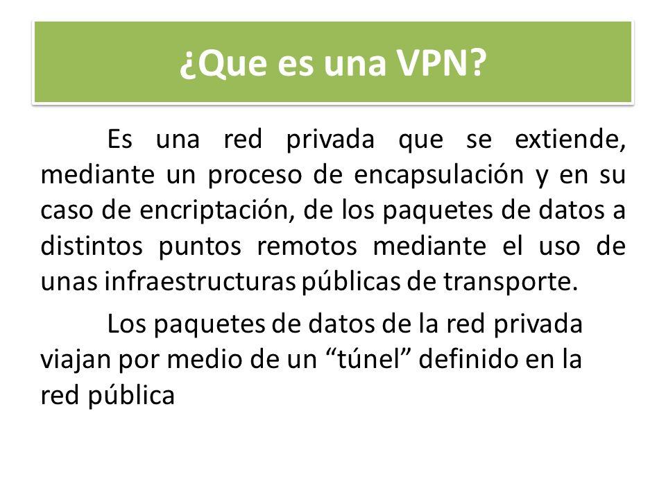 ¿Que es una VPN