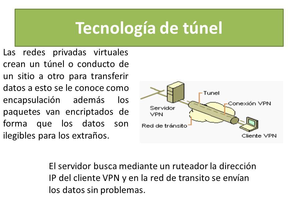 Tecnología de túnel