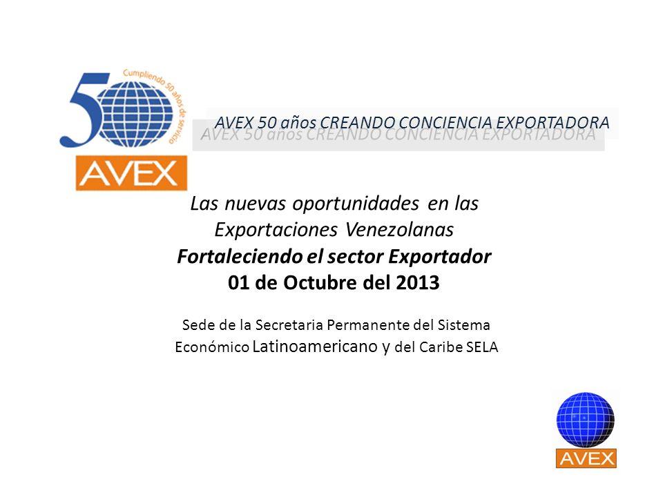 Fortaleciendo el sector Exportador