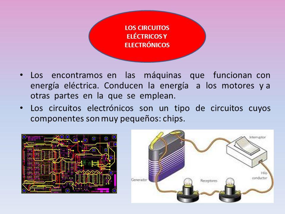 LOS CIRCUITOS ELÉCTRICOS Y ELECTRÓNICOS