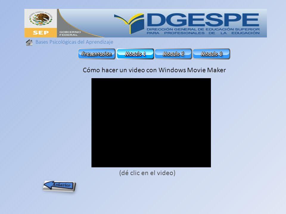 Cómo hacer un video con Windows Movie Maker