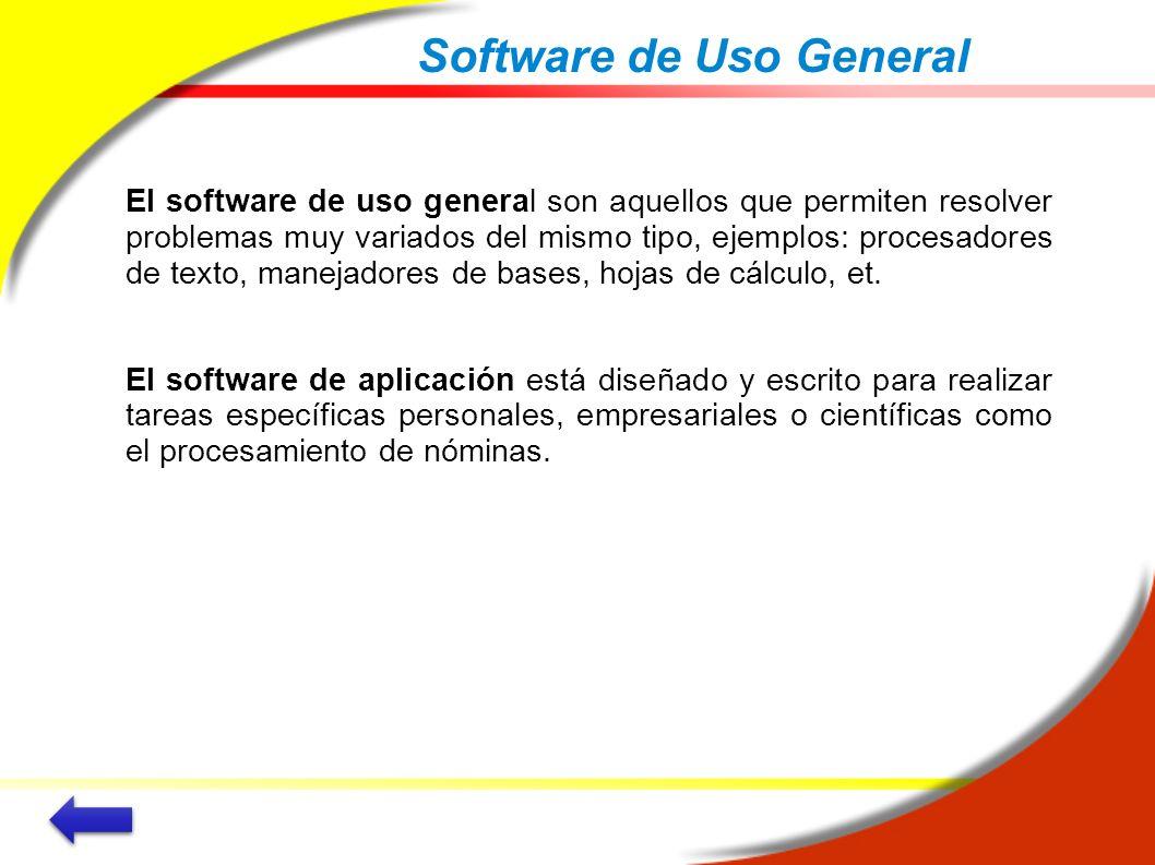 Software de Uso General