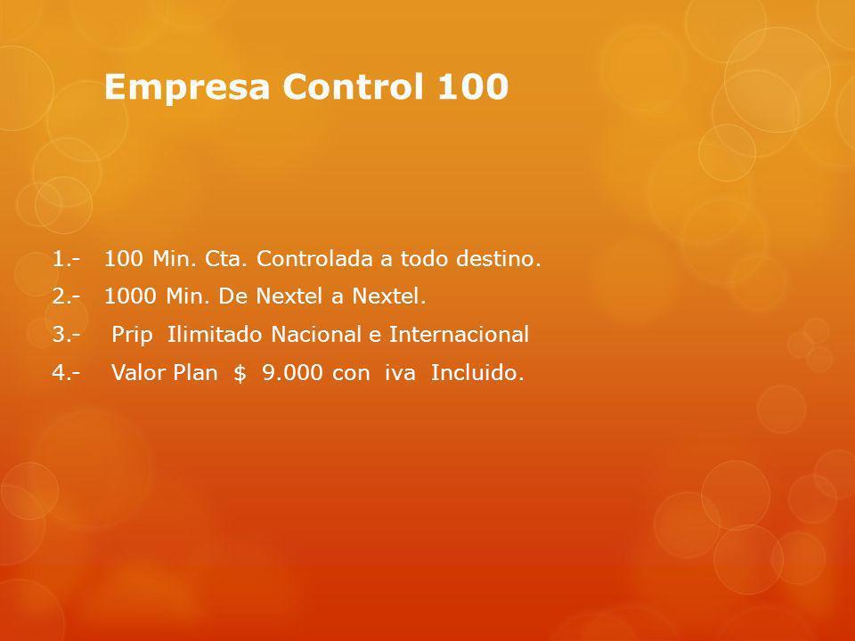 Empresa Control 100
