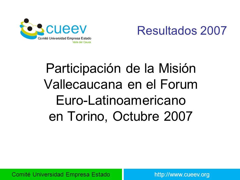 Participación de la Misión Vallecaucana en el Forum
