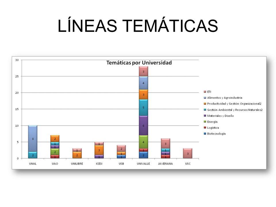 LÍNEAS TEMÁTICAS