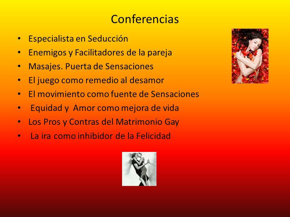 Conferencias Especialista en Seducción