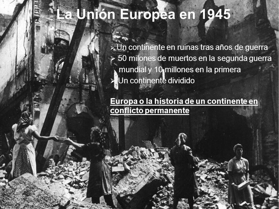 Europa o la historia de un continente en permanente conflicto