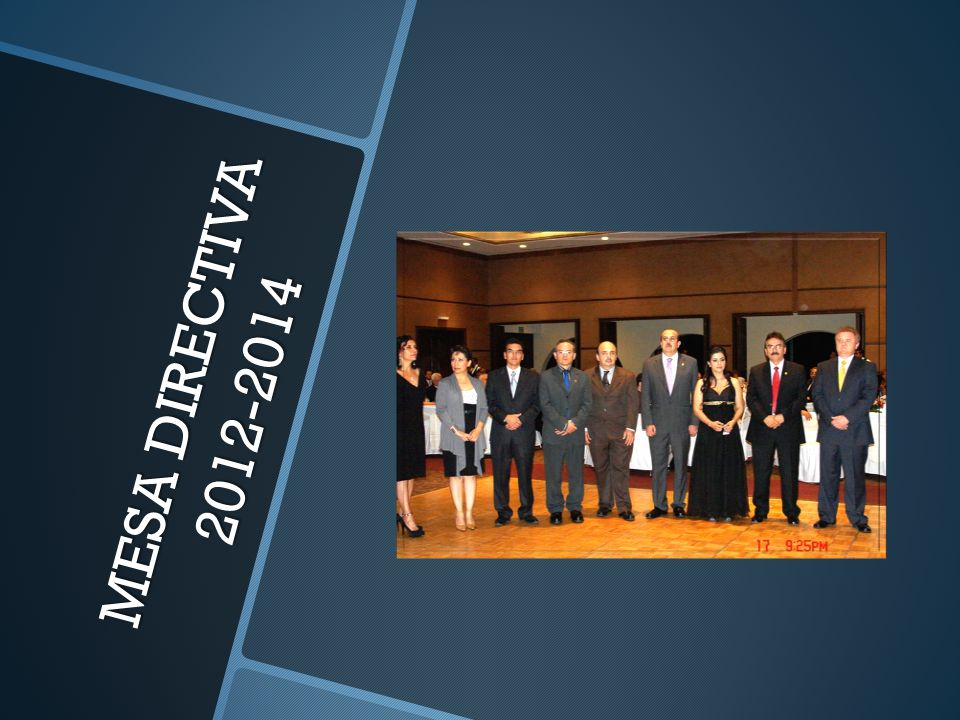 MESA DIRECTIVA 2012-2014