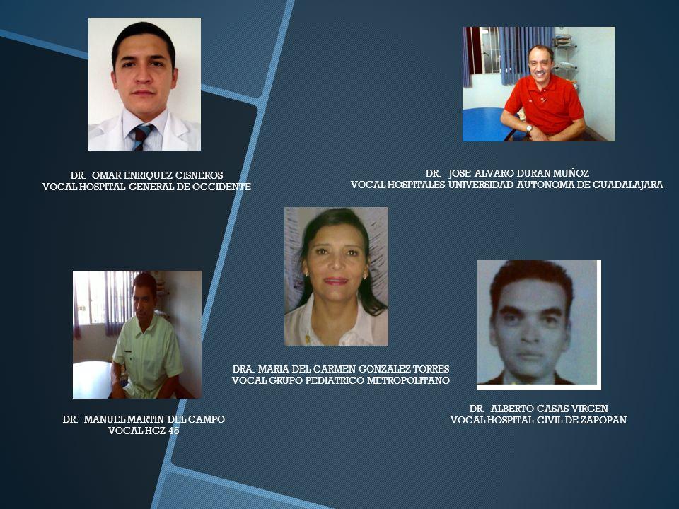 DR. OMAR ENRIQUEZ CISNEROS VOCAL HOSPITAL GENERAL DE OCCIDENTE
