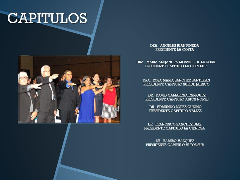 CAPITULOS DRA. ANGELES JUAN PINEDA PRESIDENTE LA COSTA