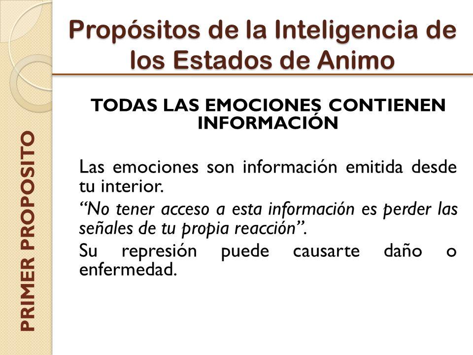 Propósitos de la Inteligencia de los Estados de Animo