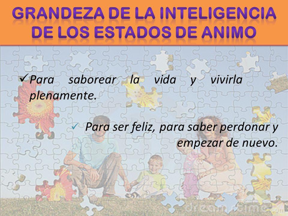 Grandeza de la Inteligencia de los Estados de Animo