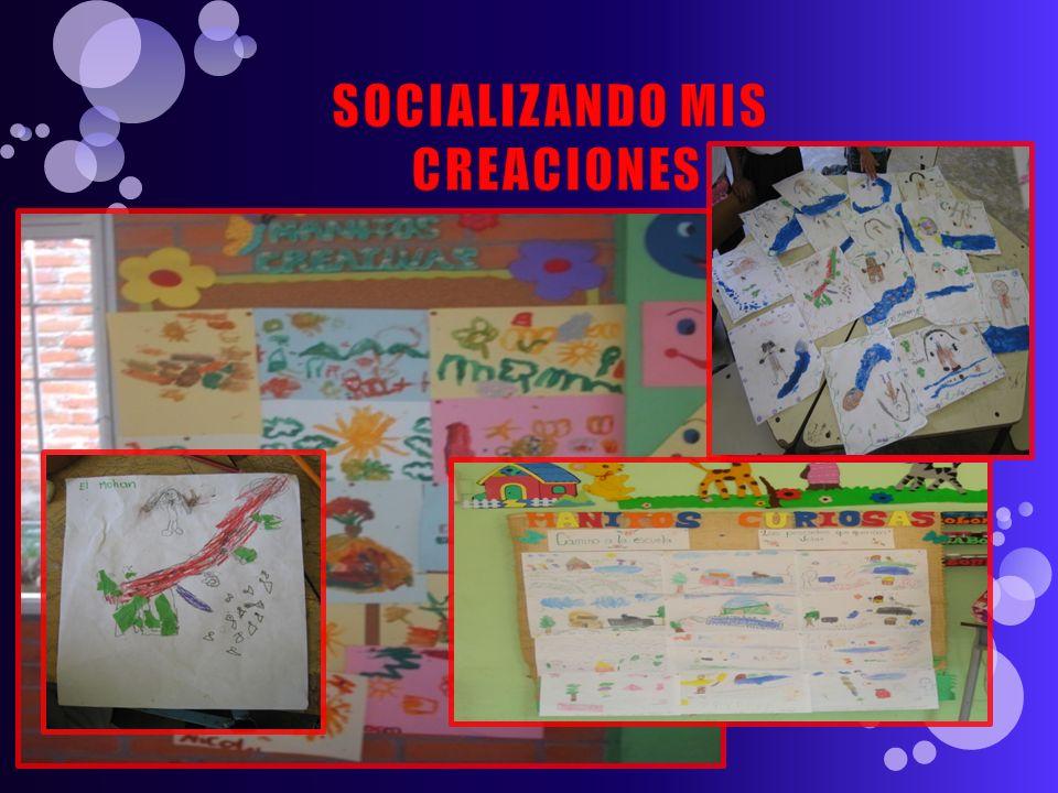 SOCIALIZANDO MIS CREACIONES