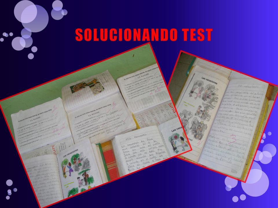 SOLUCIONANDO TEST