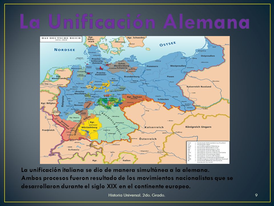 La Unificación Alemana