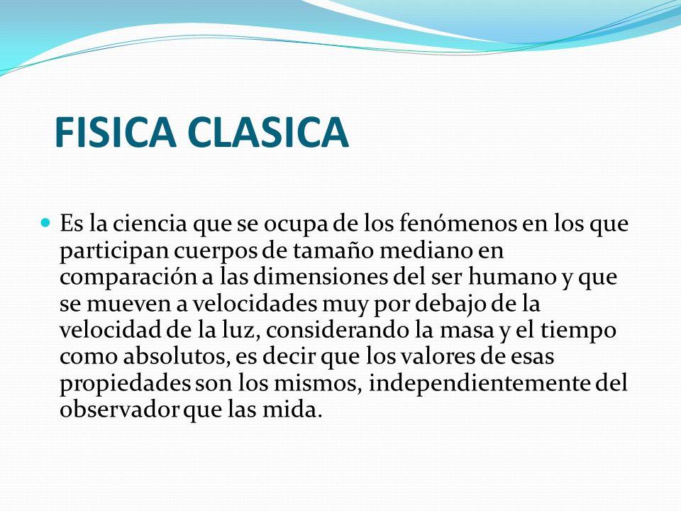 FISICA CLASICA