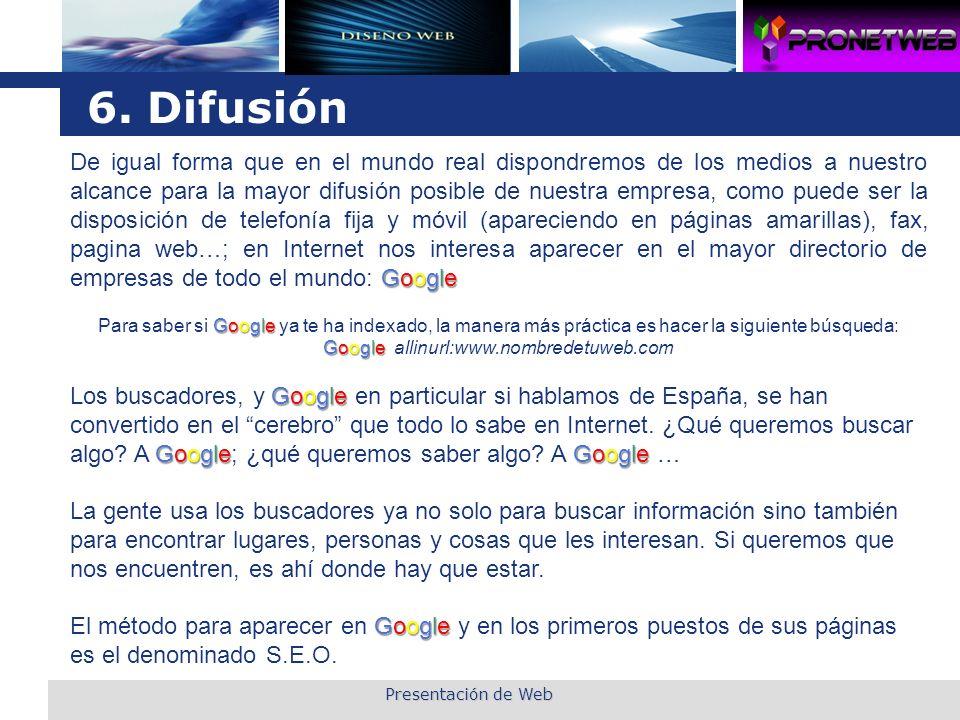 6. Difusión