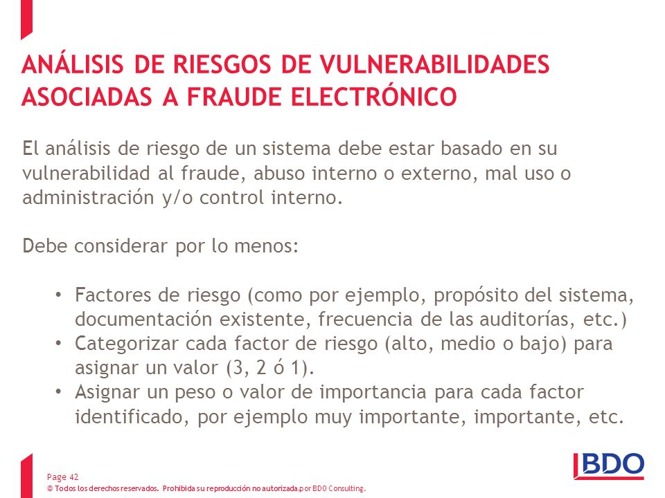 ANÁLISIS DE RIESGOS DE VULNERABILIDADES ASOCIADAS A FRAUDE ELECTRÓNICO