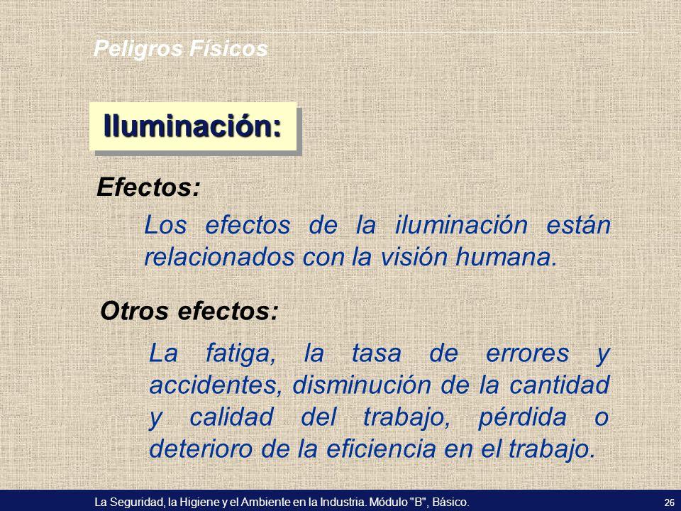 Iluminación: Efectos:
