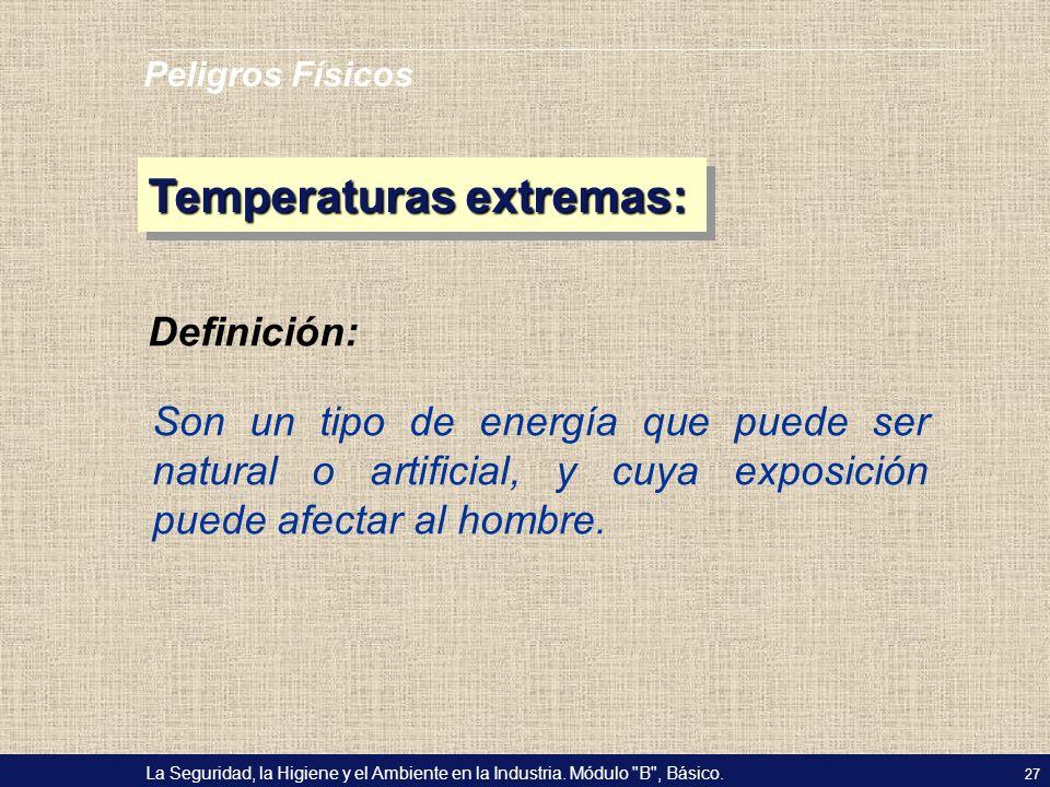 Temperaturas extremas: