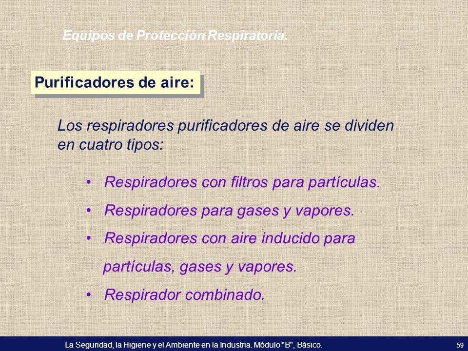 Purificadores de aire: