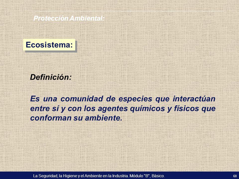Ecosistema: Definición: