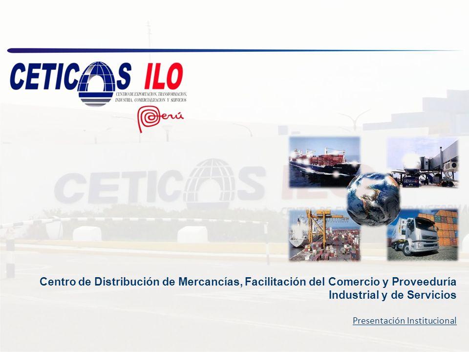 Centro de Distribución de Mercancías, Facilitación del Comercio y Proveeduría Industrial y de Servicios