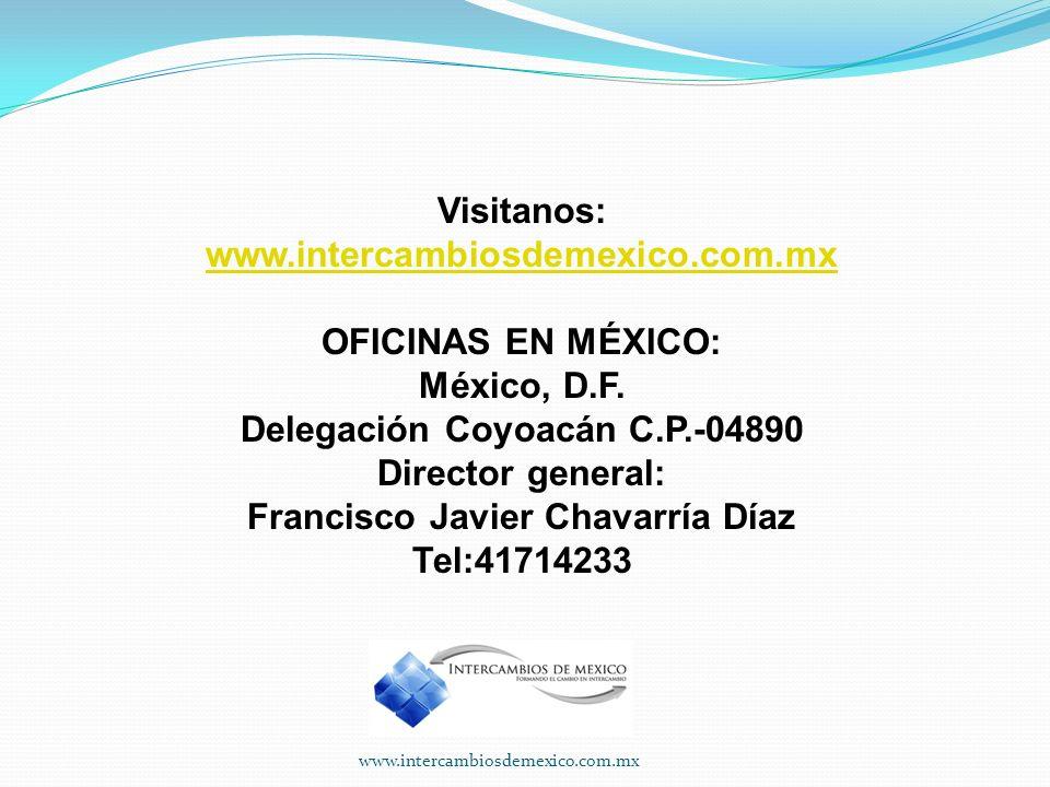 Delegación Coyoacán C.P.-04890 Francisco Javier Chavarría Díaz