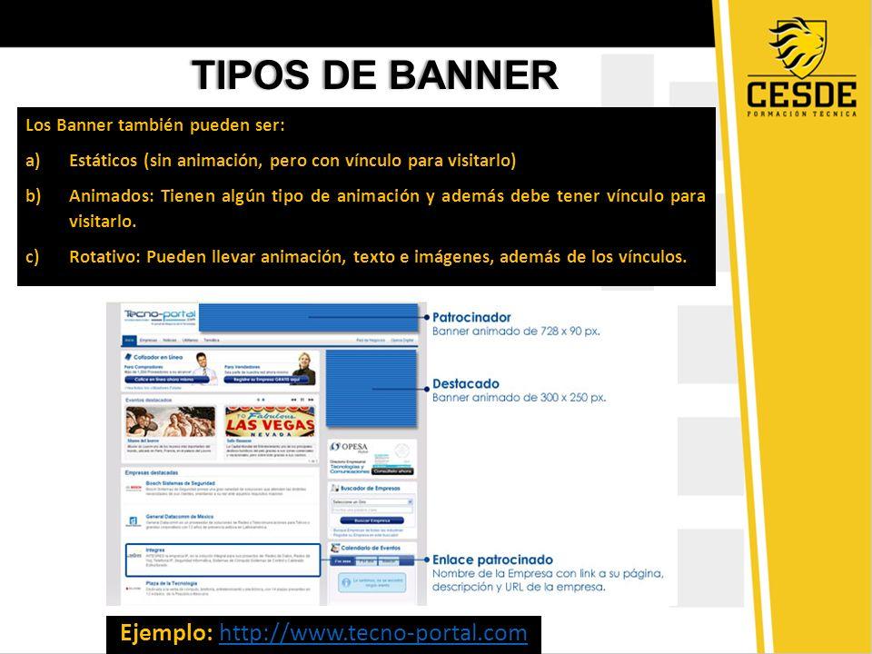 Ejemplo: http://www.tecno-portal.com