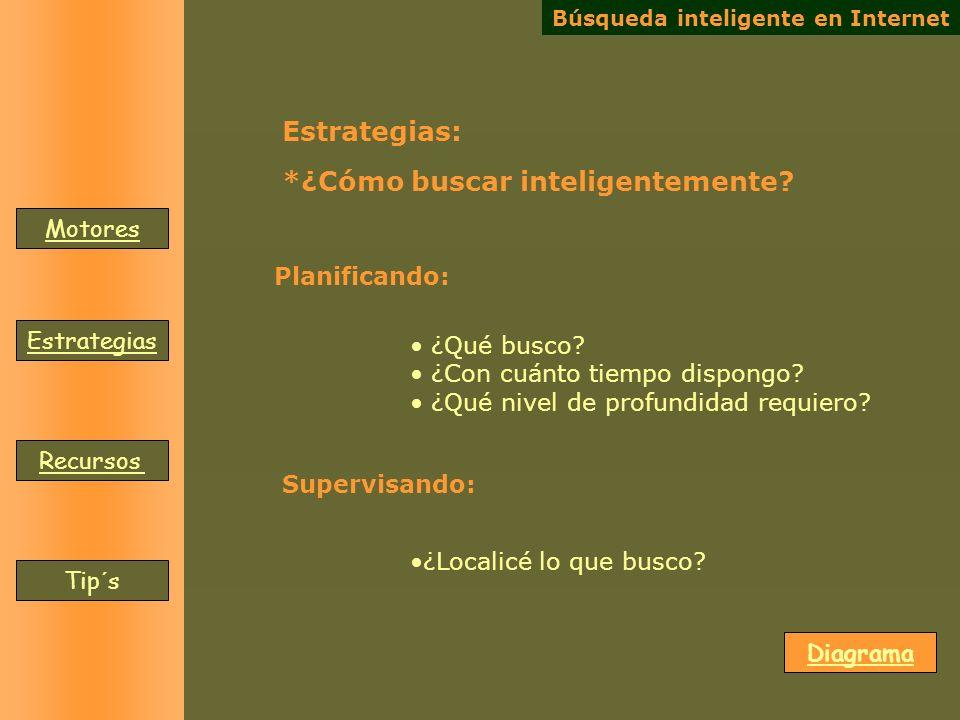 *¿Cómo buscar inteligentemente