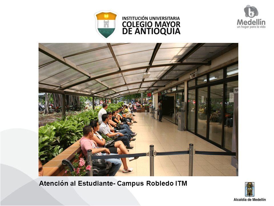 Atención al Estudiante- Campus Robledo ITM