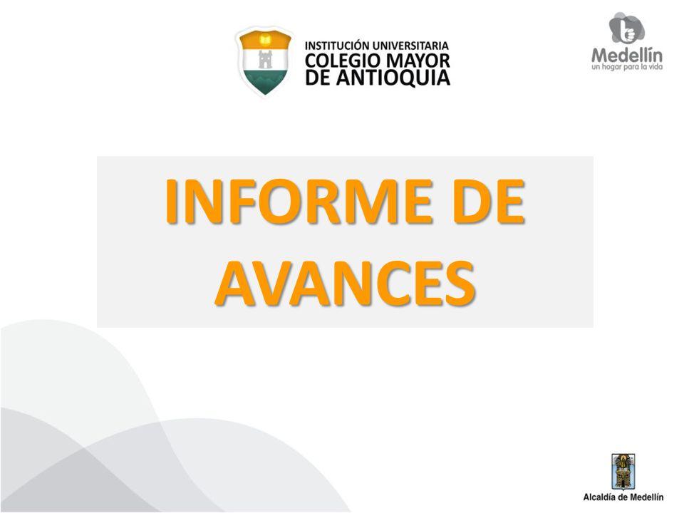 INFORME DE AVANCES