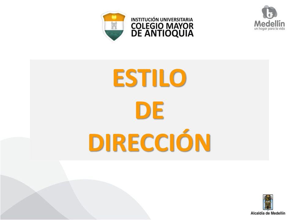 ESTILO DE DIRECCIÓN