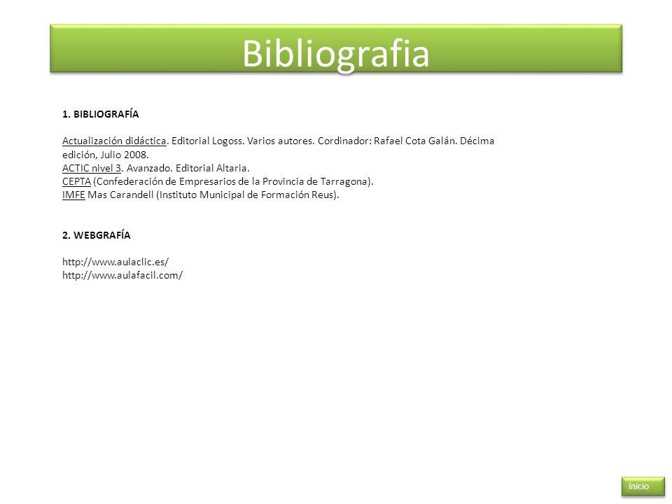 Bibliografia 1. BIBLIOGRAFÍA