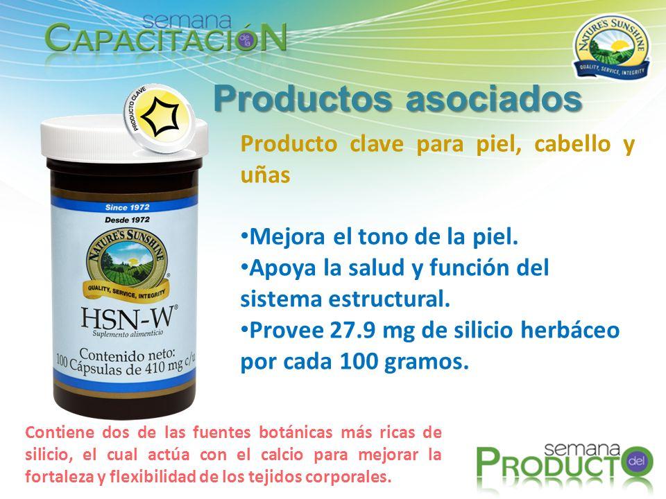 Productos asociados Producto clave para piel, cabello y uñas