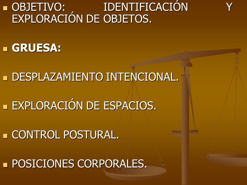 OBJETIVO: IDENTIFICACIÓN Y EXPLORACIÓN DE OBJETOS.