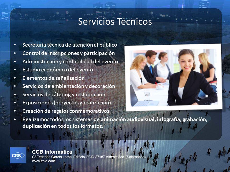 Servicios Técnicos Secretaría técnica de atención al público