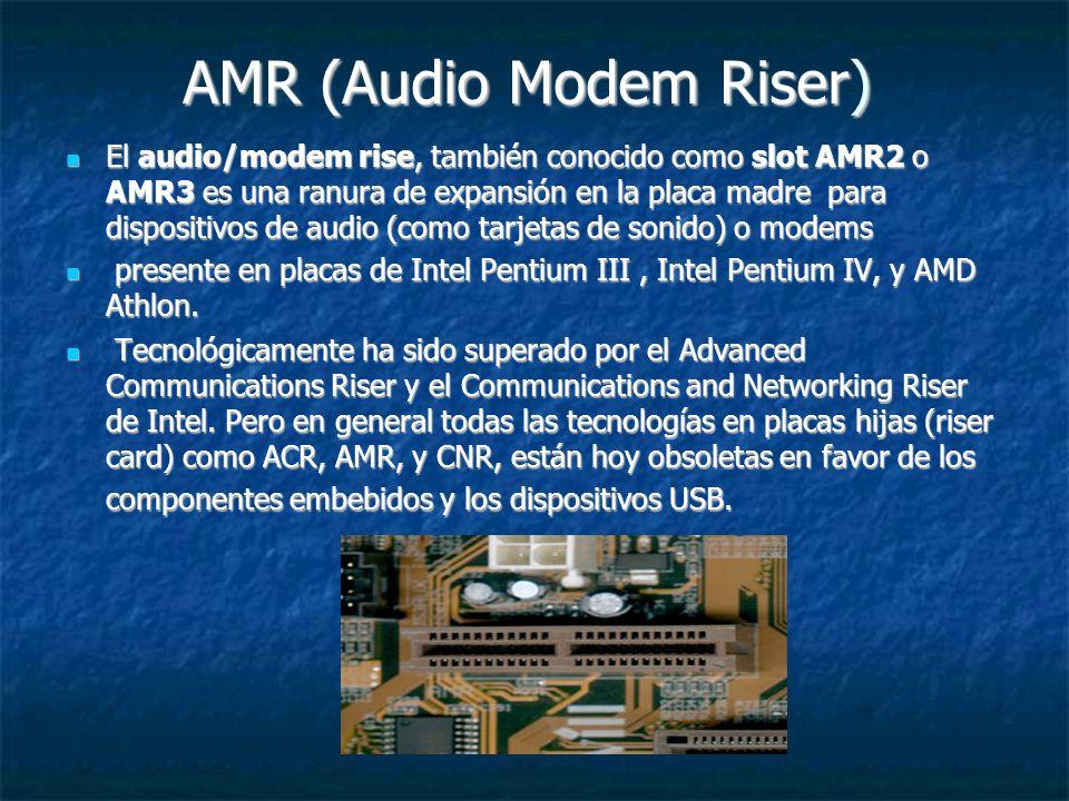 AMR (Audio Modem Riser)