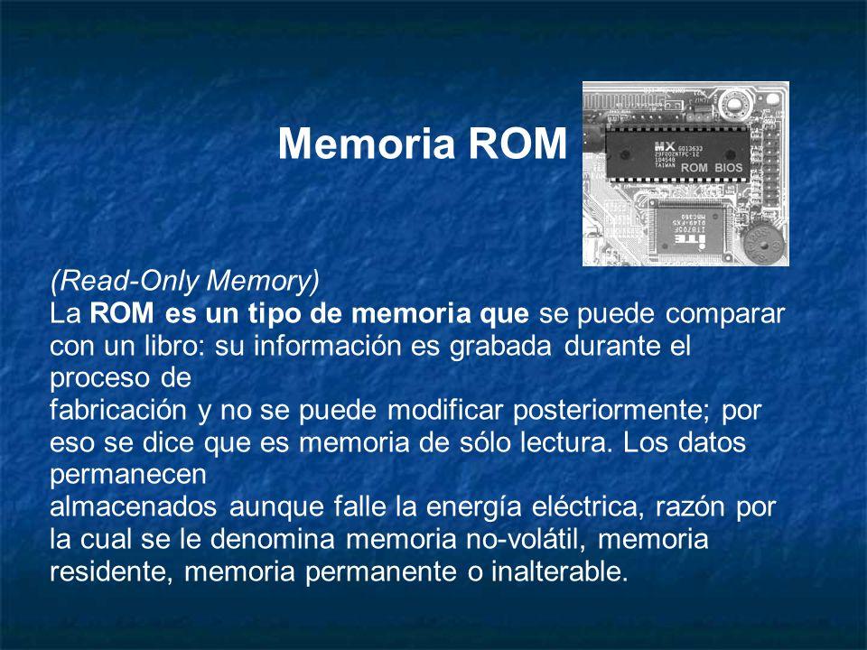 Memoria ROM (Read-Only Memory)