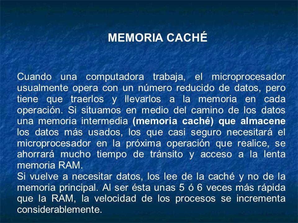 MEMORIA CACHÉ